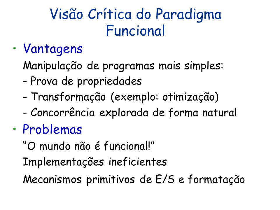 Visão Crítica do Paradigma Funcional