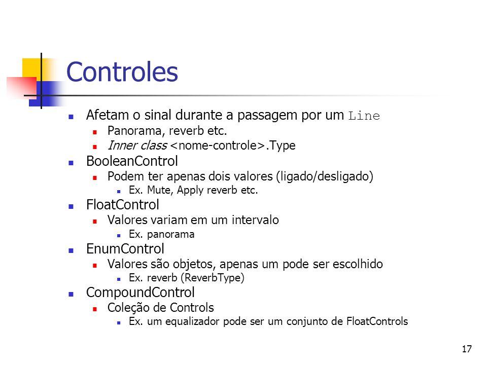 Controles Afetam o sinal durante a passagem por um Line BooleanControl