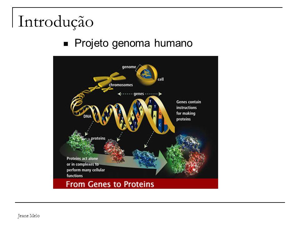 Introdução Projeto genoma humano Jeane Melo