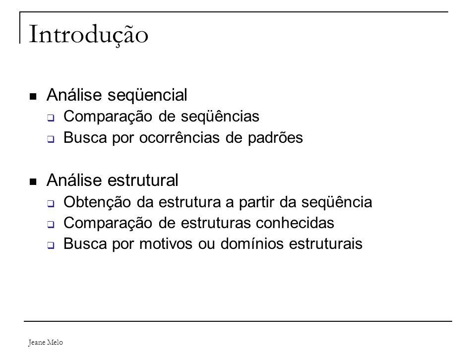 Introdução Análise seqüencial Análise estrutural