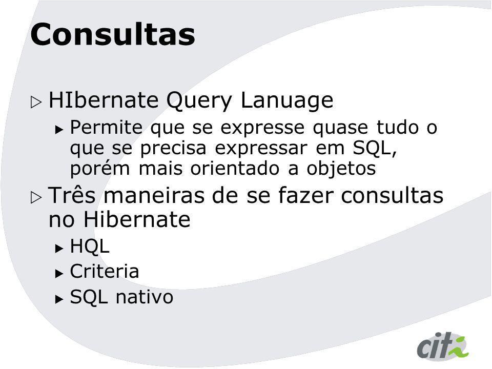 Consultas HIbernate Query Lanuage