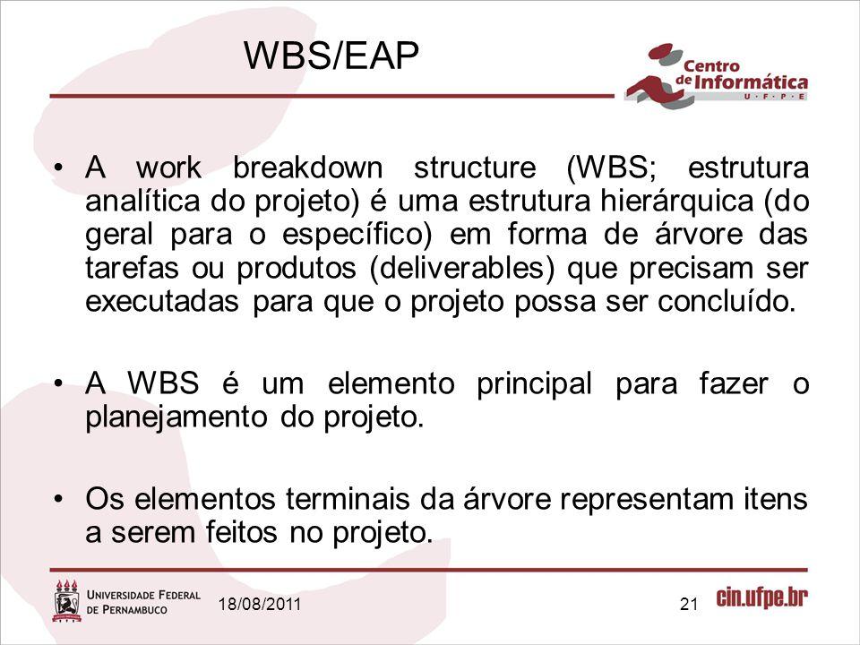 WBS/EAP