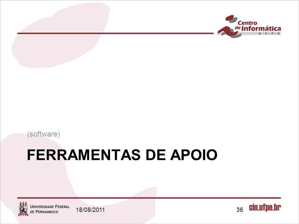 (software) FERRAMENTAS DE APOIO 18/08/2011