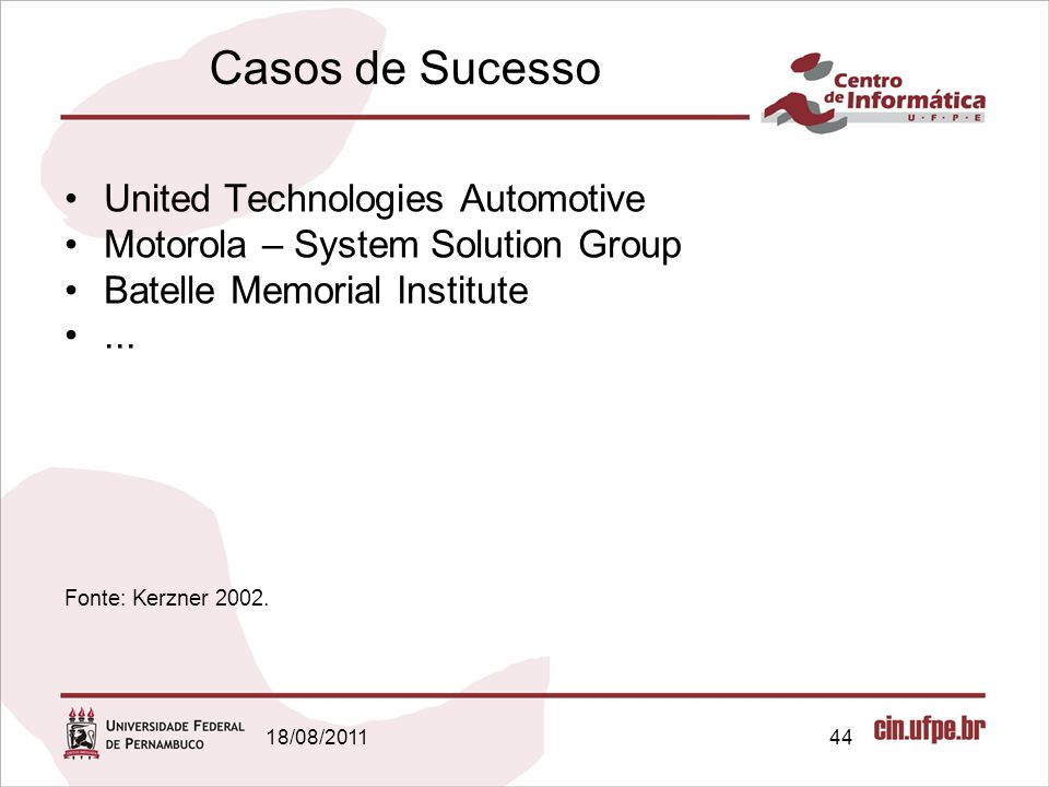 Casos de Sucesso United Technologies Automotive