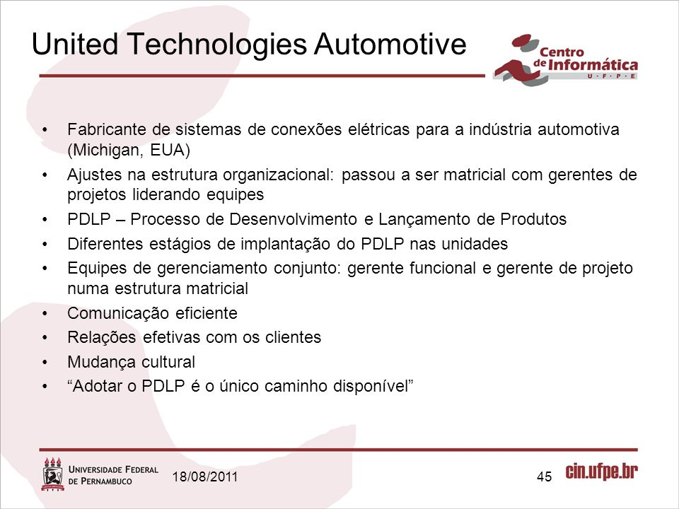 United Technologies Automotive