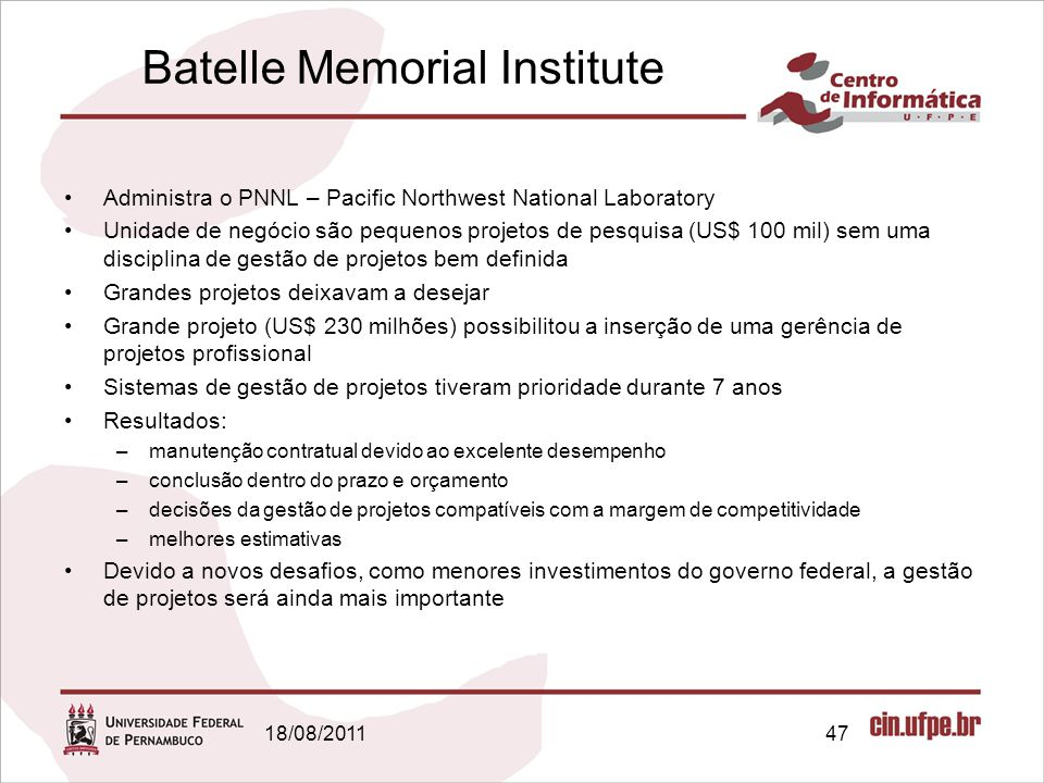 Batelle Memorial Institute