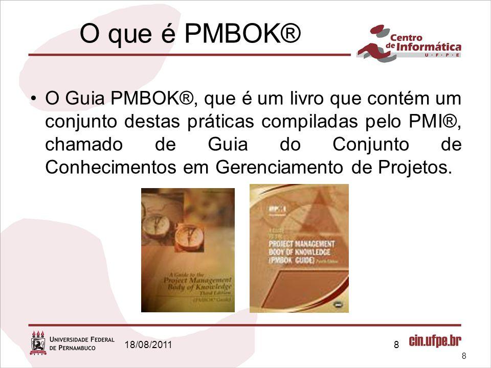 O que é PMBOK®