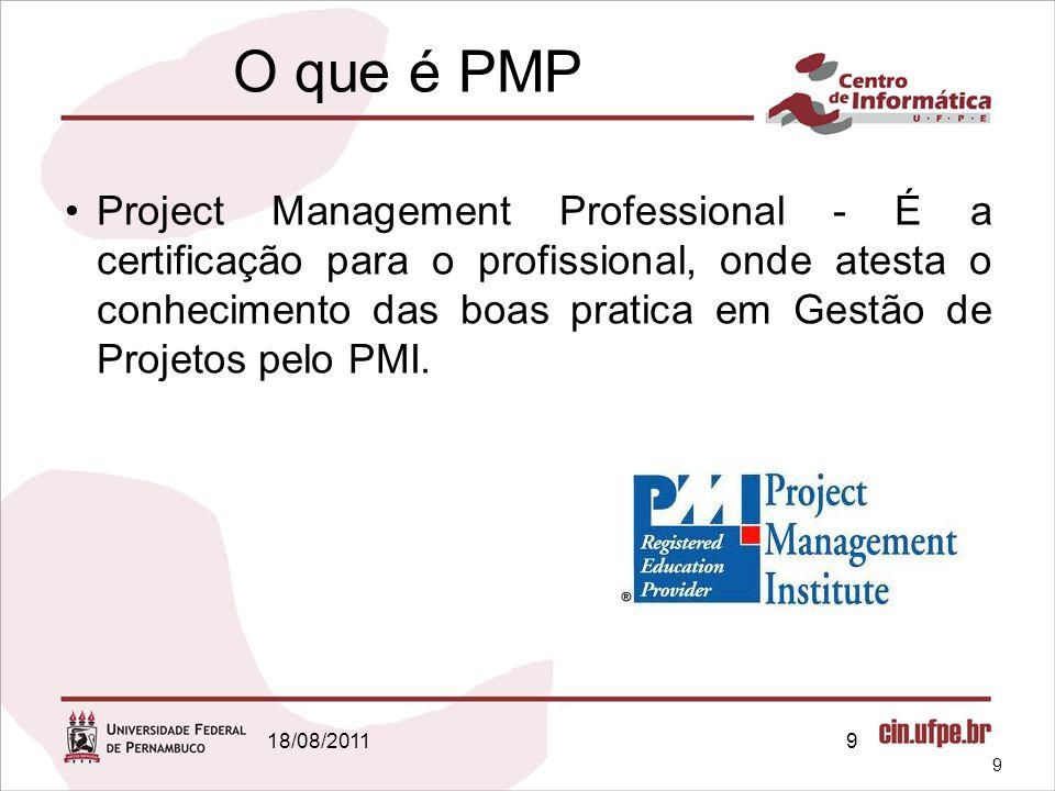 O que é PMP