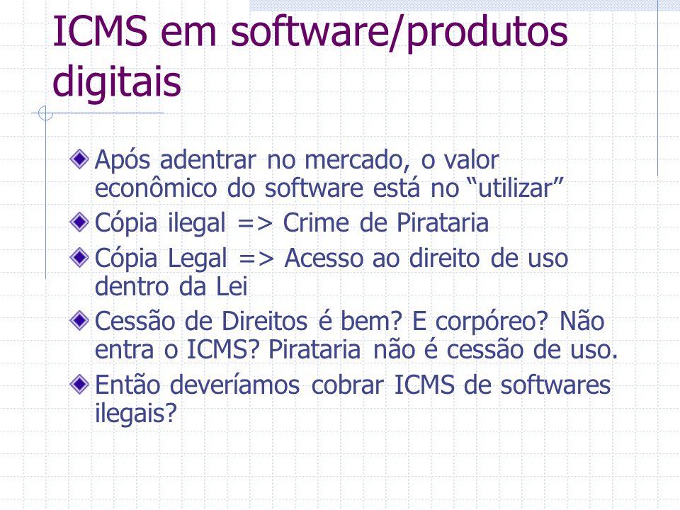 ICMS em software/produtos digitais