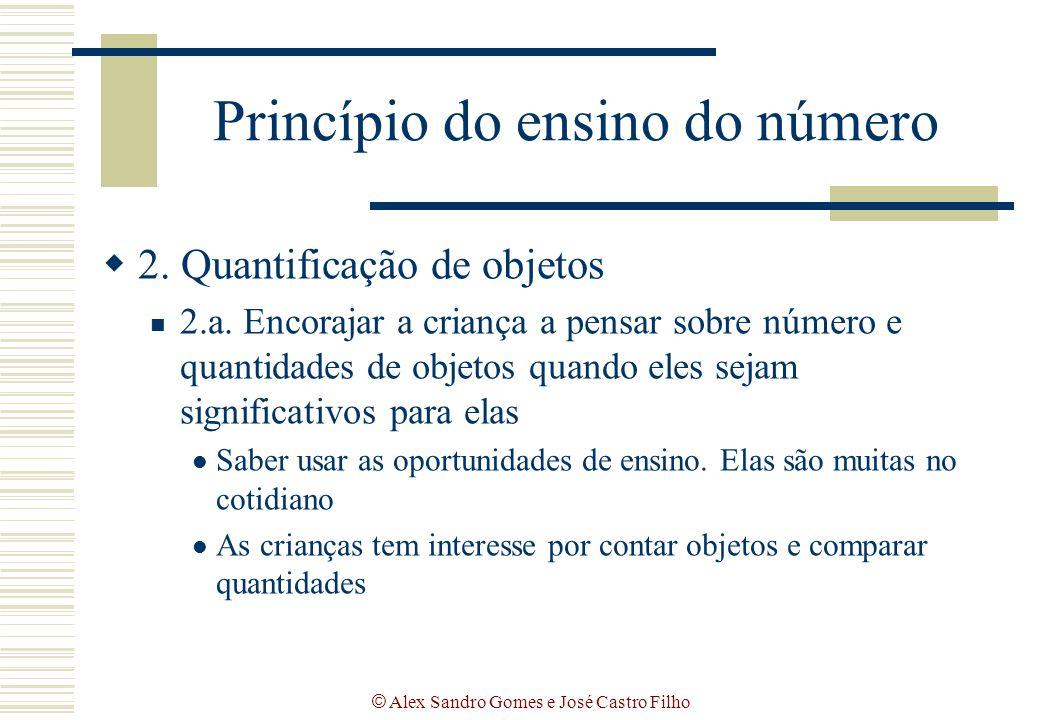 Princípio do ensino do número