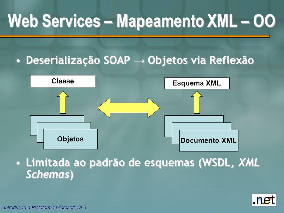 Web Services – Mapeamento XML – OO
