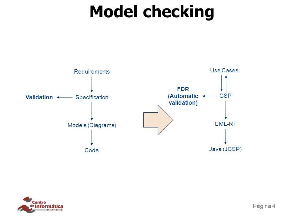Visão crítica de model checking