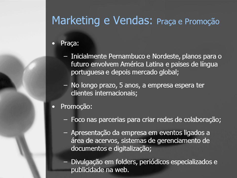 Marketing e Vendas: Praça e Promoção