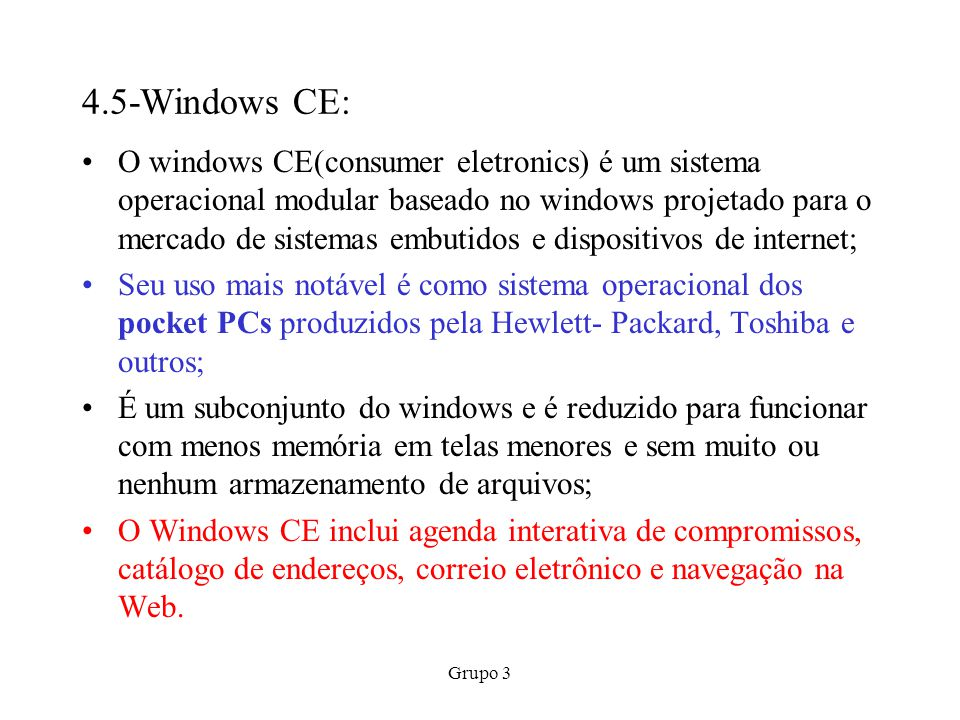 4.5-Windows CE:
