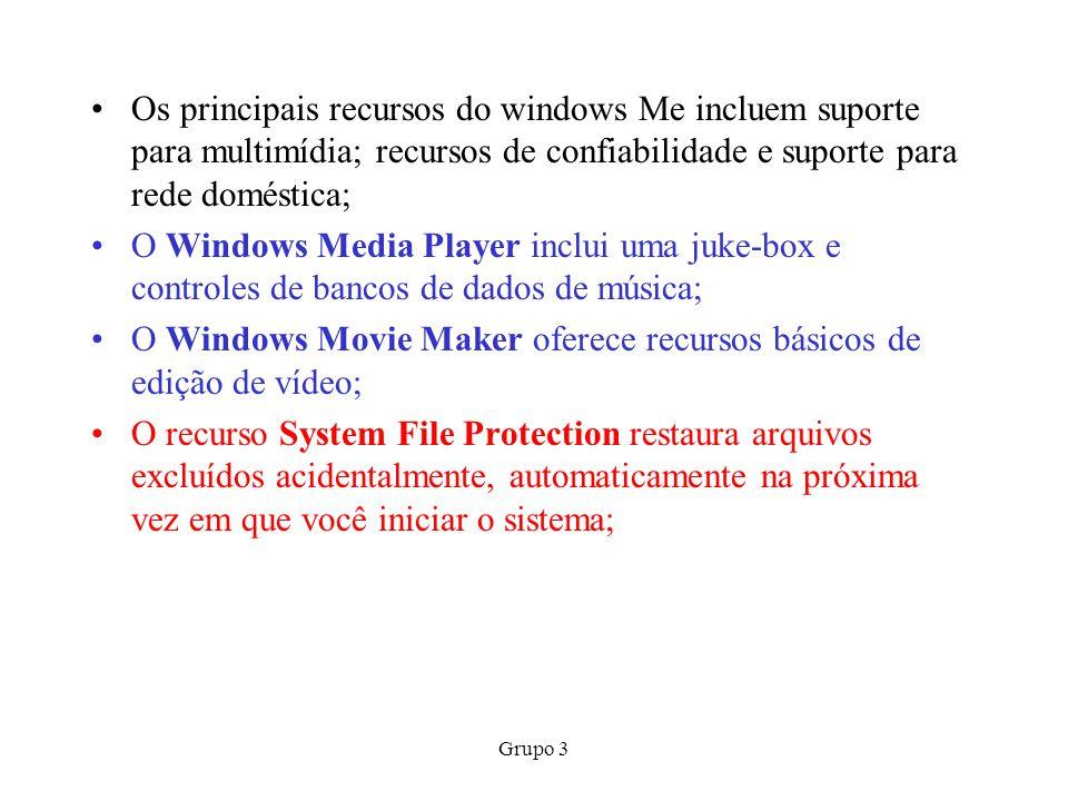O Windows Movie Maker oferece recursos básicos de edição de vídeo;