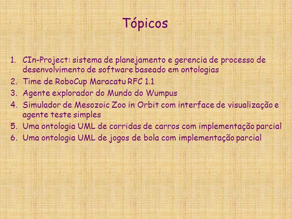 Tópicos CIn-Project: sistema de planejamento e gerencia de processo de desenvolvimento de software baseado em ontologias.