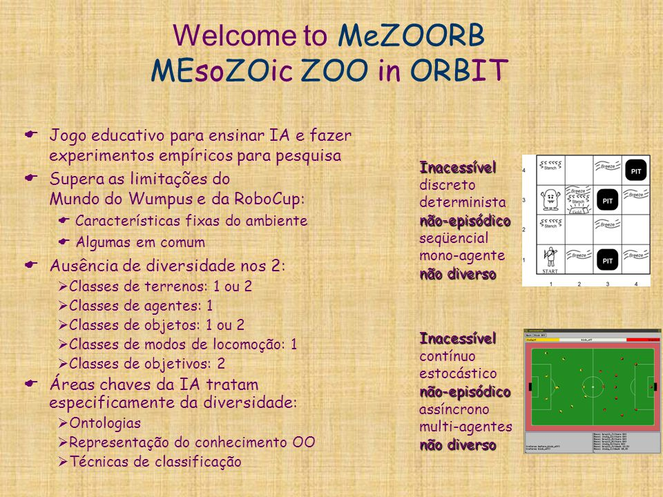 Welcome to MeZOORB MEsoZOic ZOO in ORBIT