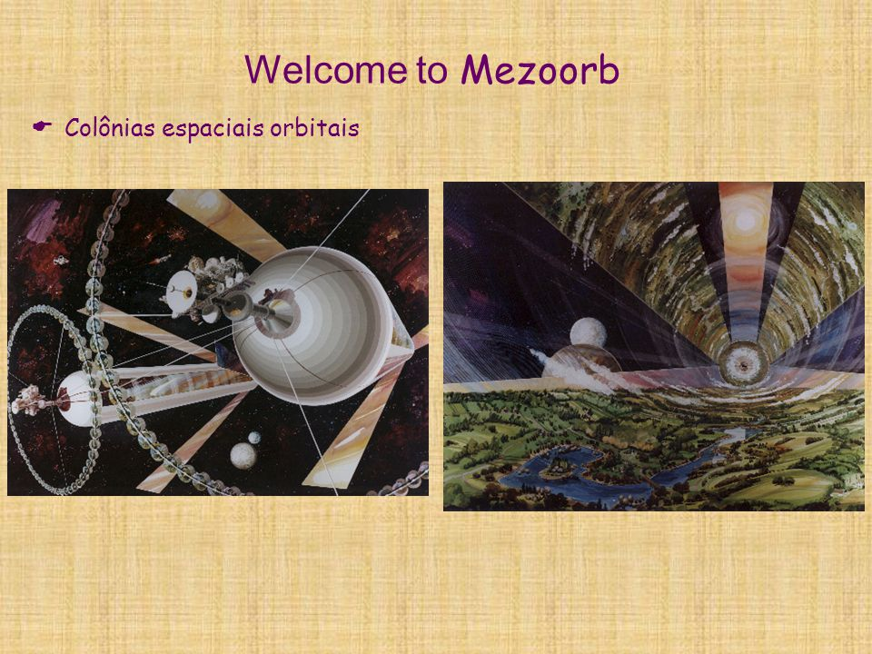Welcome to Mezoorb Colônias espaciais orbitais
