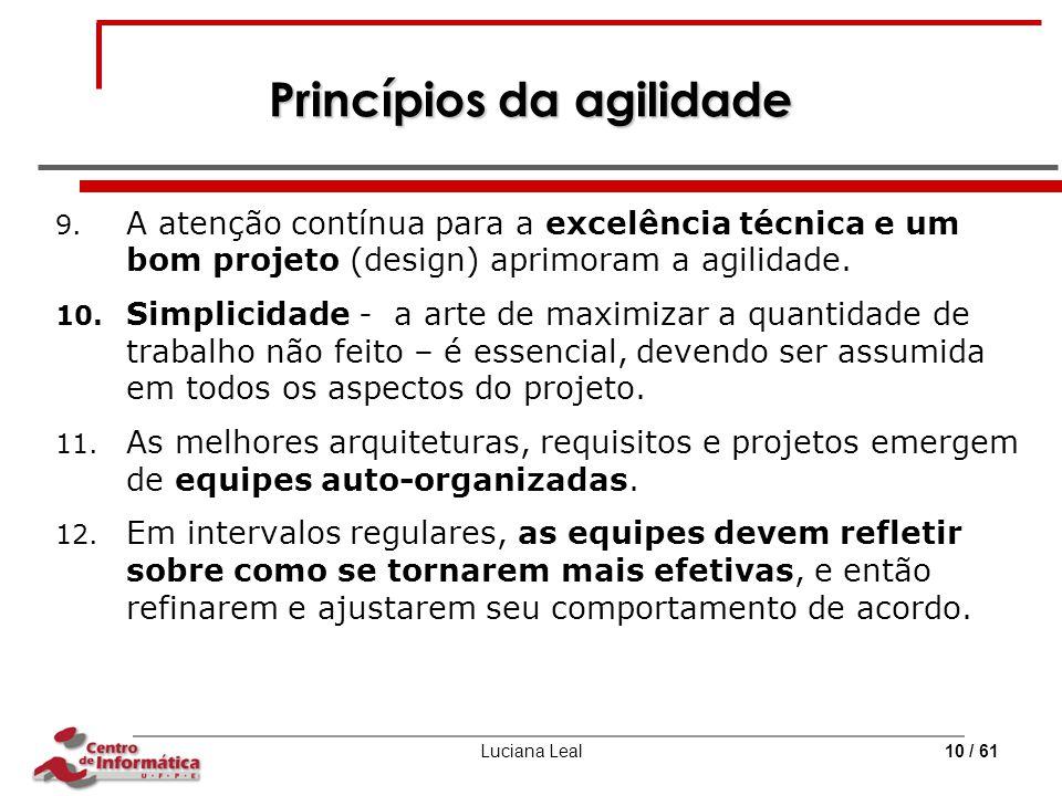 Princípios da agilidade
