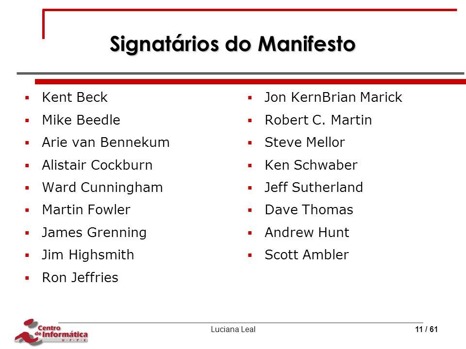 Signatários do Manifesto