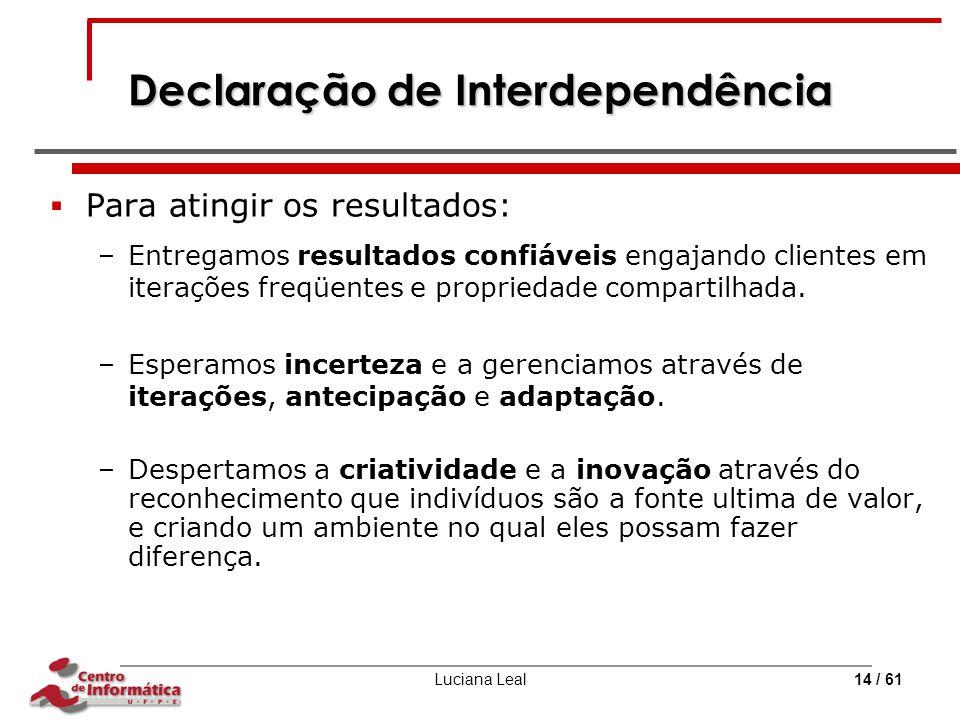 Declaração de Interdependência