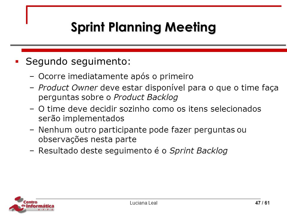 Sprint Planning Meeting