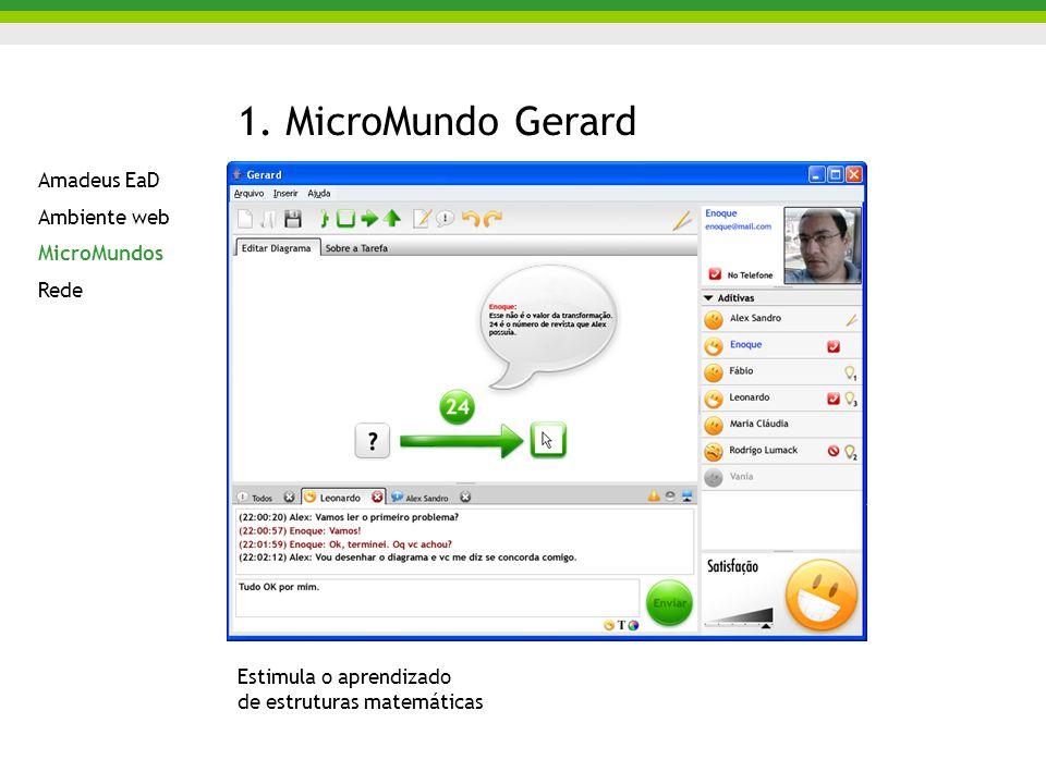 1. MicroMundo Gerard Amadeus EaD Ambiente web MicroMundos Rede