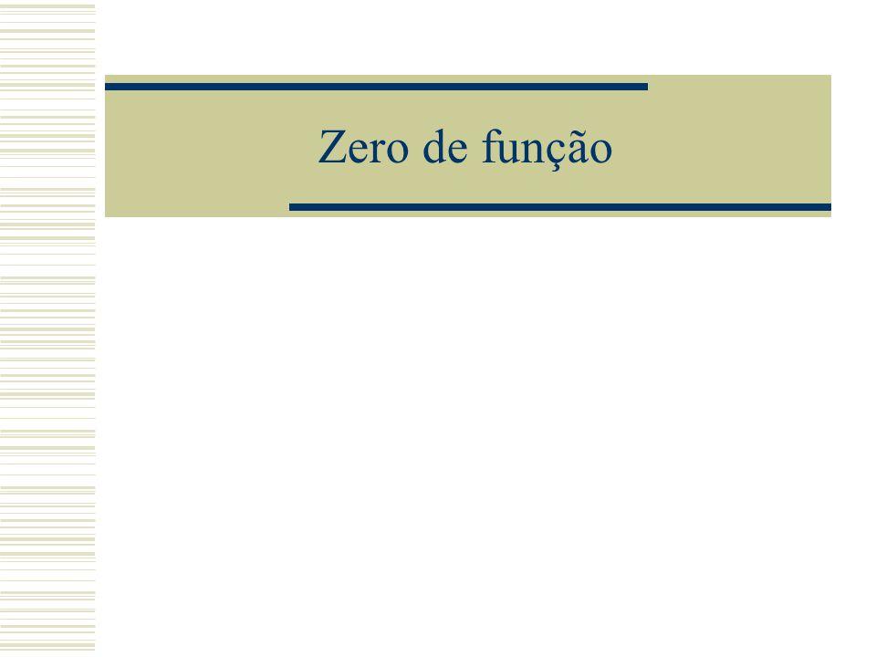 Zero de função