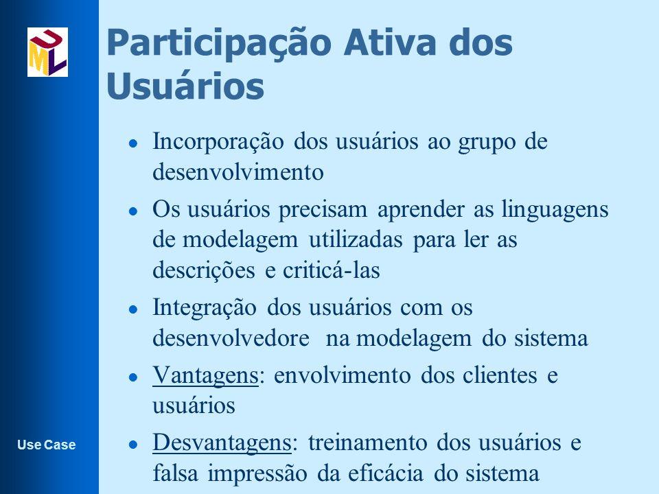 Participação Ativa dos Usuários