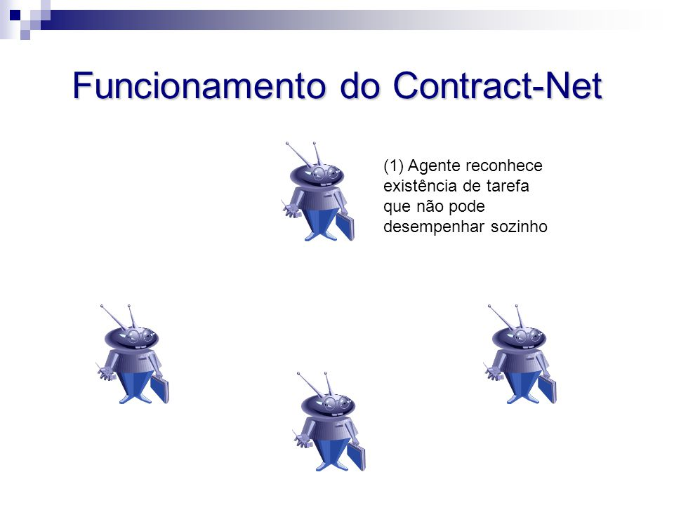 Funcionamento do Contract-Net