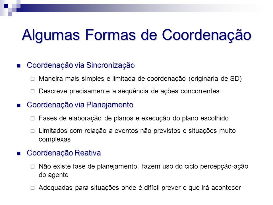 Algumas Formas de Coordenação