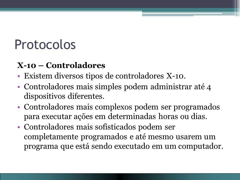 Protocolos X-10 – Controladores