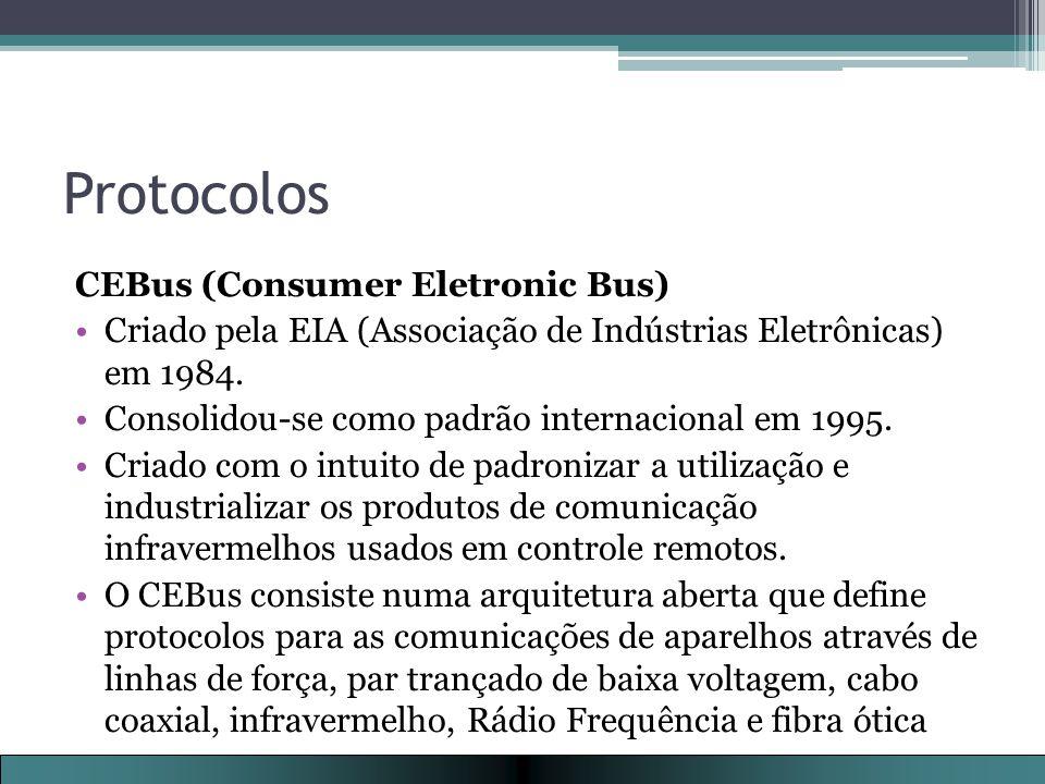 Protocolos CEBus (Consumer Eletronic Bus)