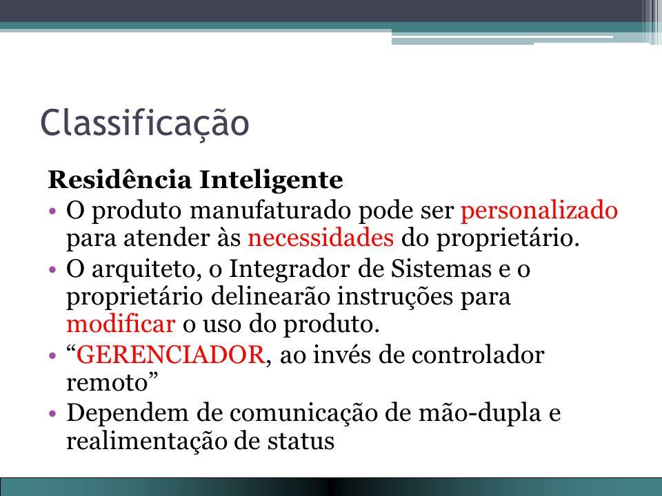 Classificação Residência Inteligente