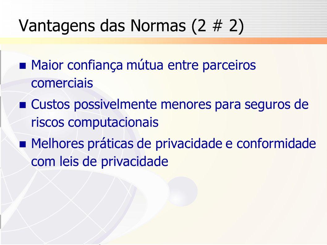 Vantagens das Normas (2 # 2)