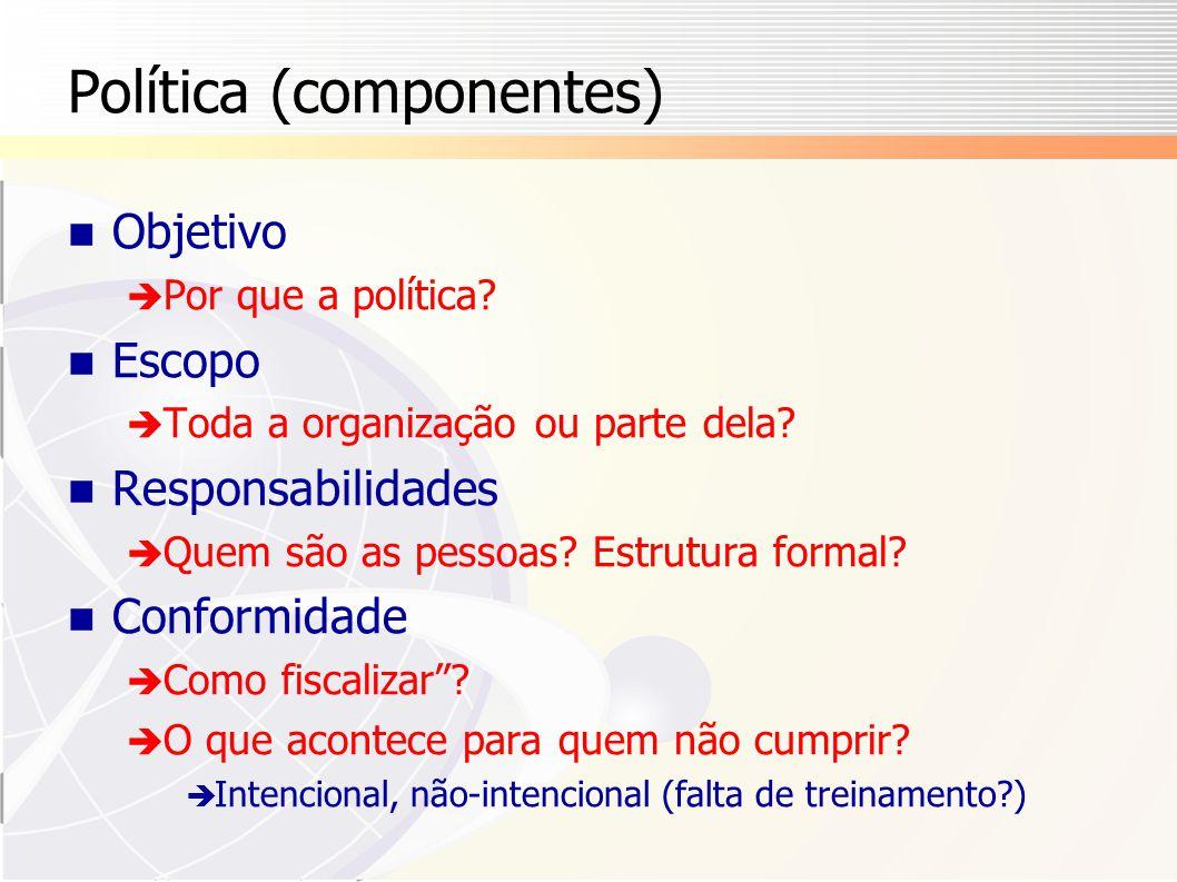 Política (componentes)