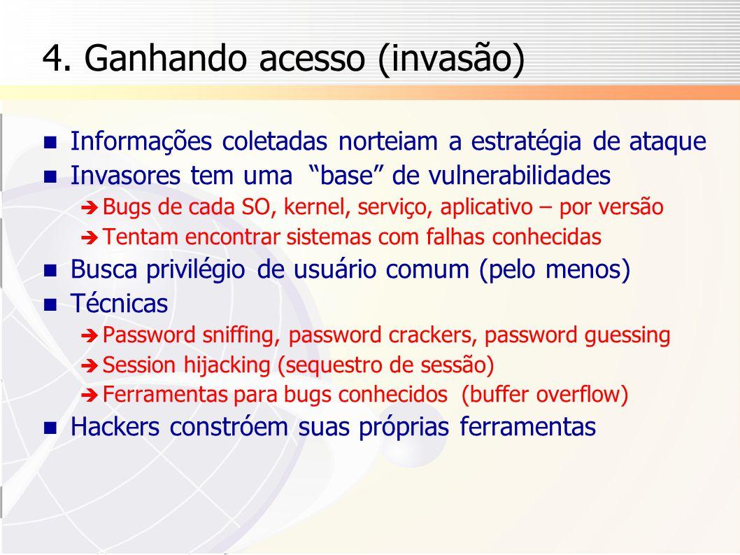 4. Ganhando acesso (invasão)