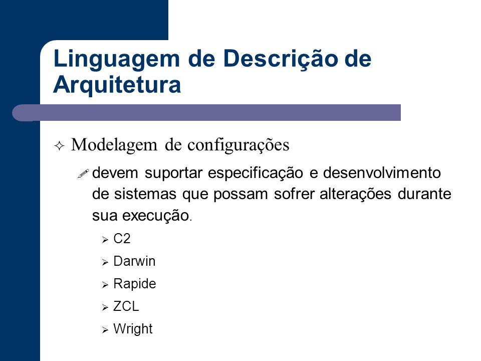 Linguagem de Descrição de Arquitetura