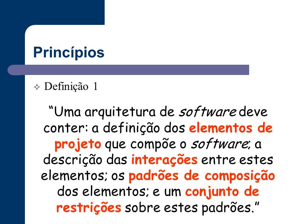 Princípios Definição 1.