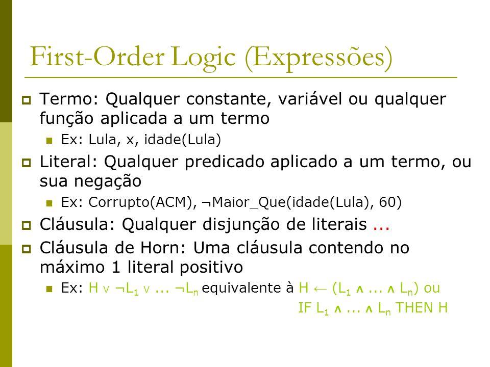 First-Order Logic (Expressões)