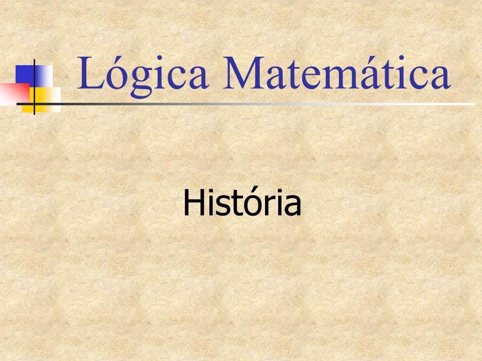 Lógica Matemática História