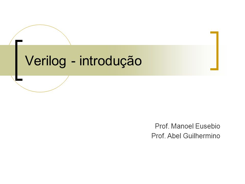 Prof. Manoel Eusebio Prof. Abel Guilhermino