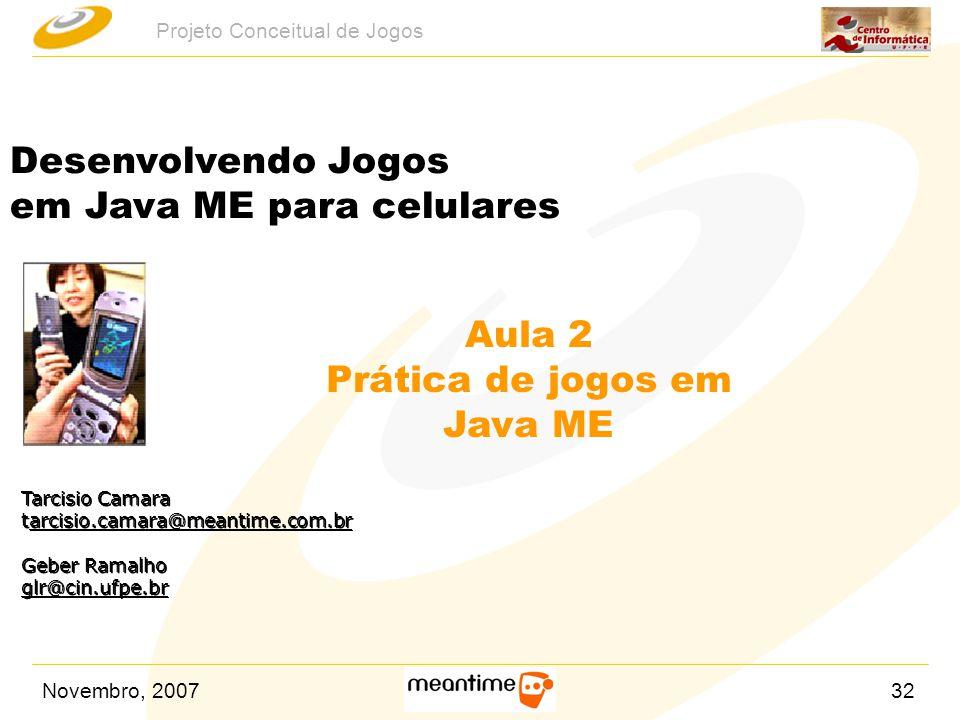 Aula 2 Prática de jogos em Java ME