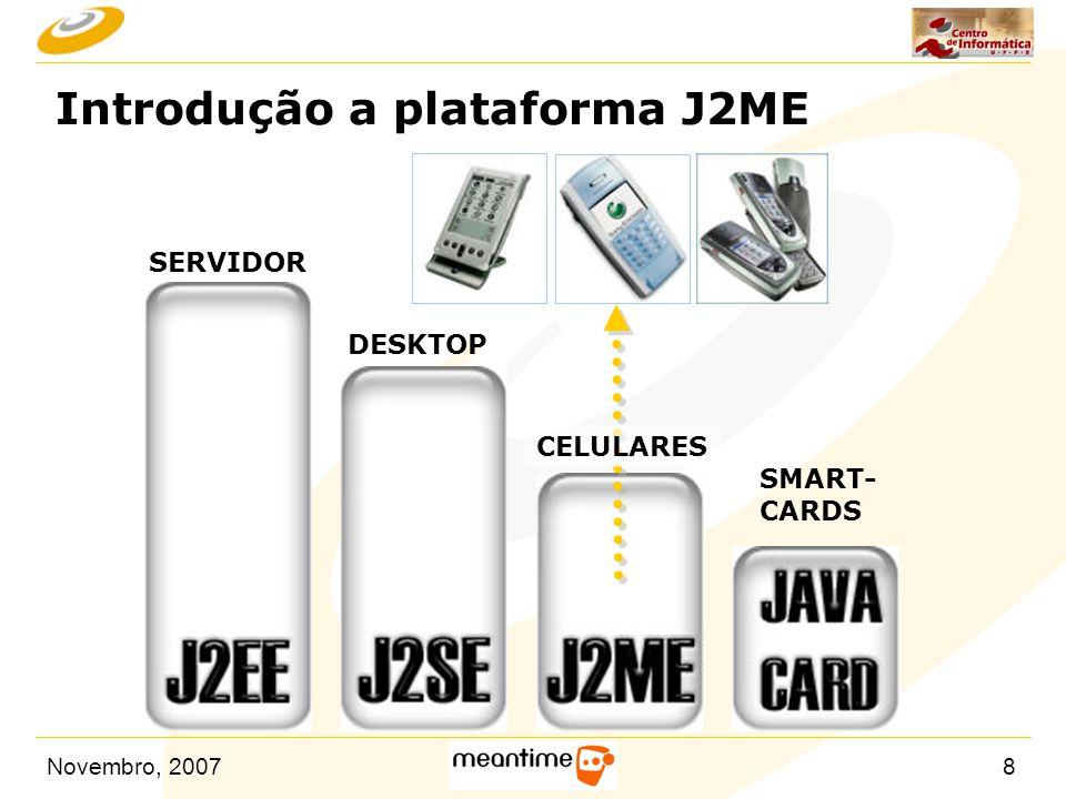 Introdução a plataforma J2ME