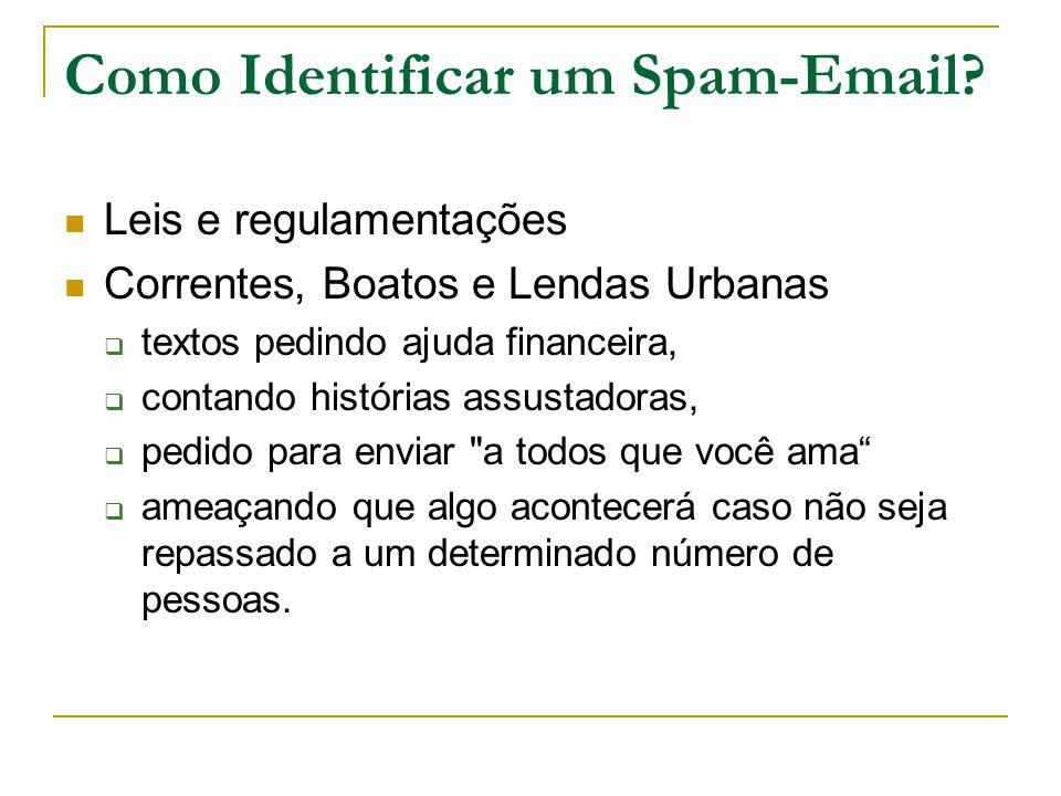 Como Identificar um Spam-Email