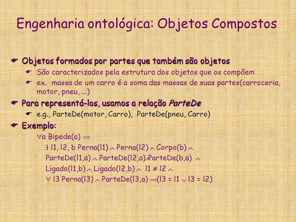 Engenharia ontológica: Objetos Compostos