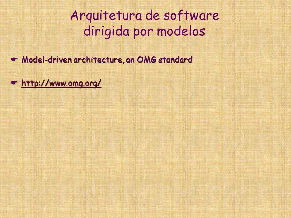 Arquitetura de software dirigida por modelos