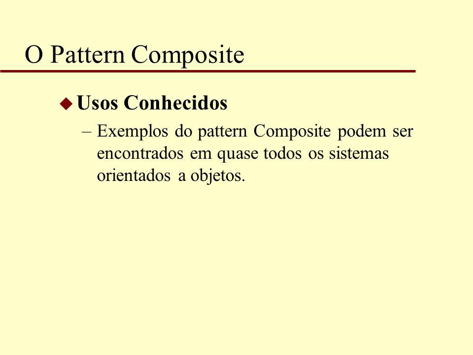 O Pattern Composite Usos Conhecidos