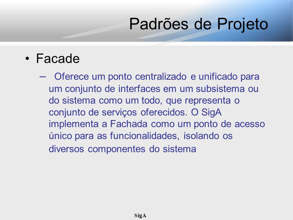 Padrões de Projeto Facade