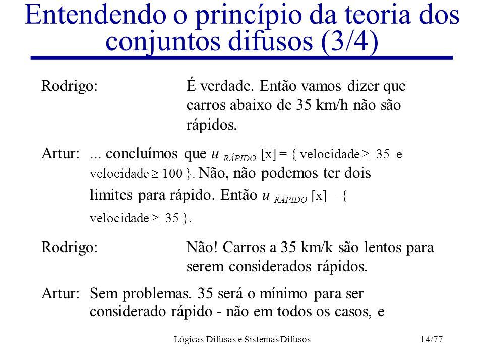 Entendendo o princípio da teoria dos conjuntos difusos (3/4)